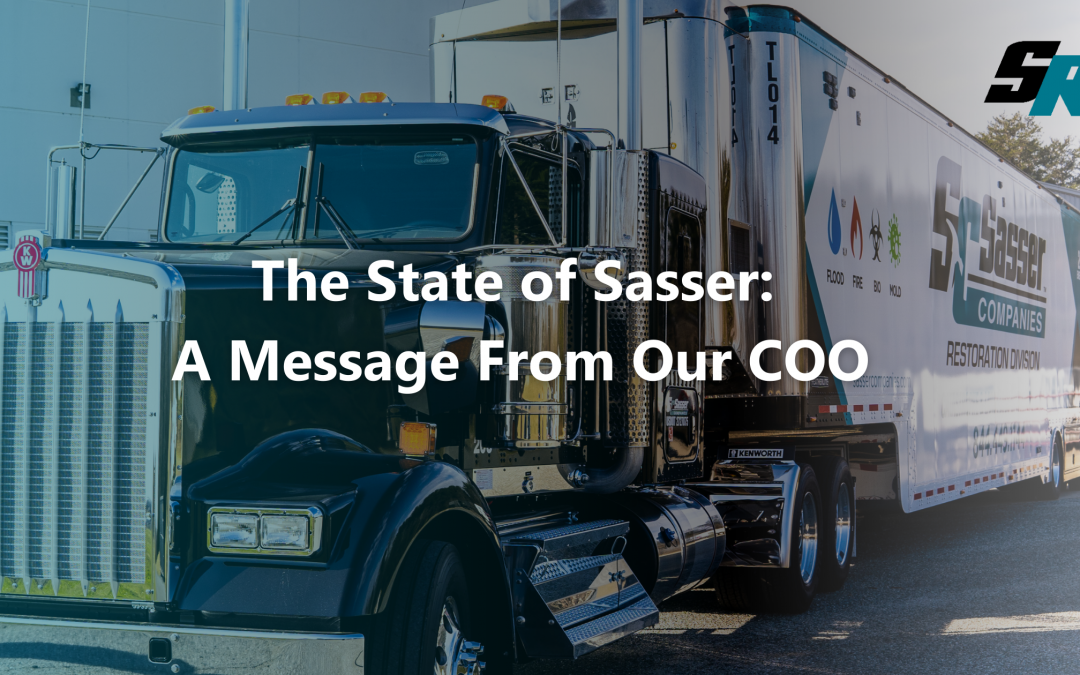 The State of Sasser: A Message From Our COO
