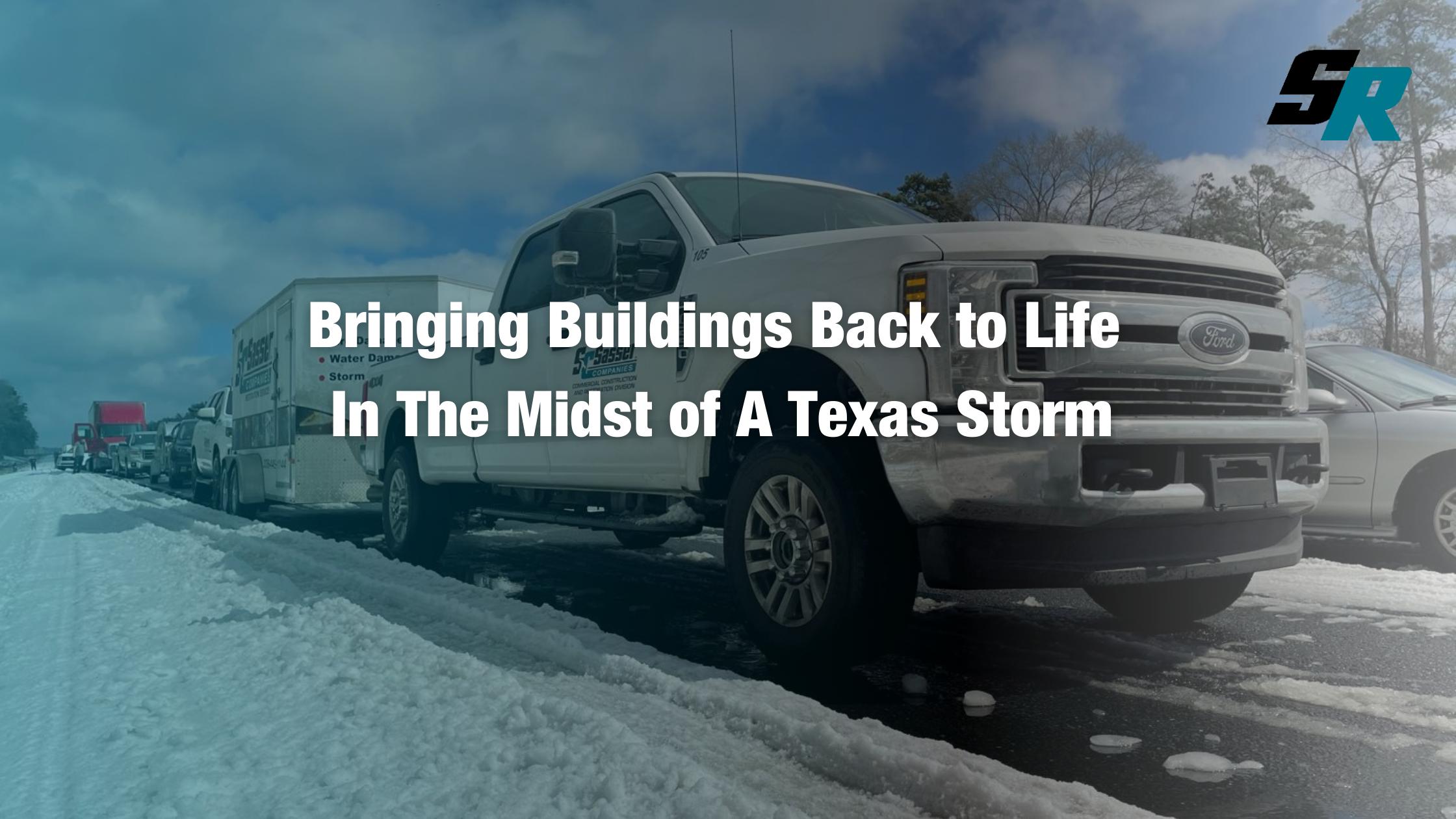 Sasser Restoration Brings Buildings Back to Life in Texas