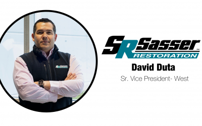 SASSER APPOINTS DAVID DUTA AS SENIOR VICE PRESIDENT-WEST: A 14-year construction veteran will help assist the firm's west coast operations.