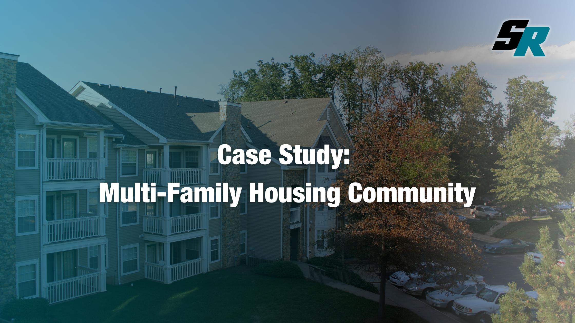 Case Study: Multi-Family Housing Community Large Loss Restoration